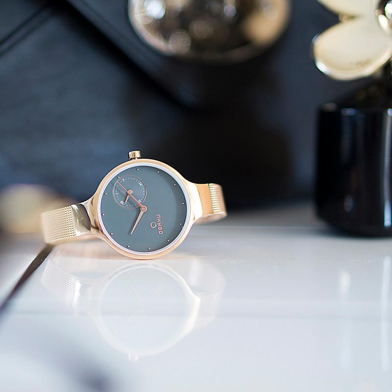 Obaku Women watch ENG - BLUSH SM2 view