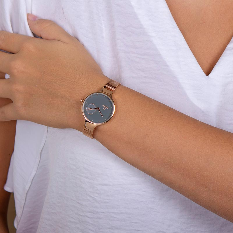 Obaku Women watch ENG - BLUSH WRIST view