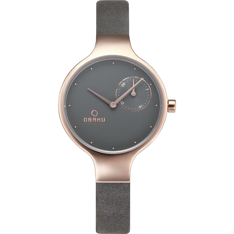 Obaku Women watch ENG - PEBBLE