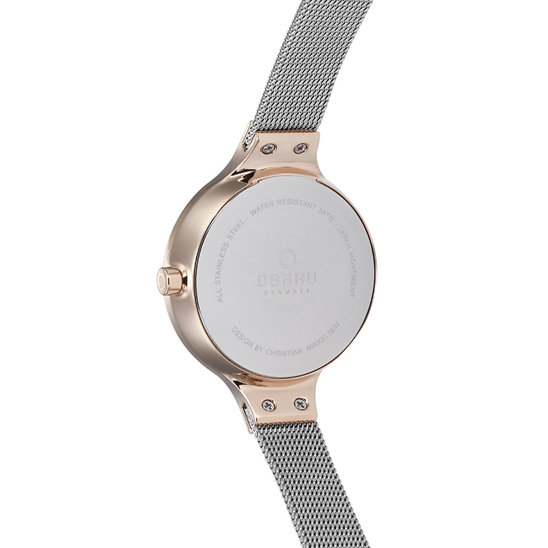 Obaku Women watch ENG - ROSE BI BACK view