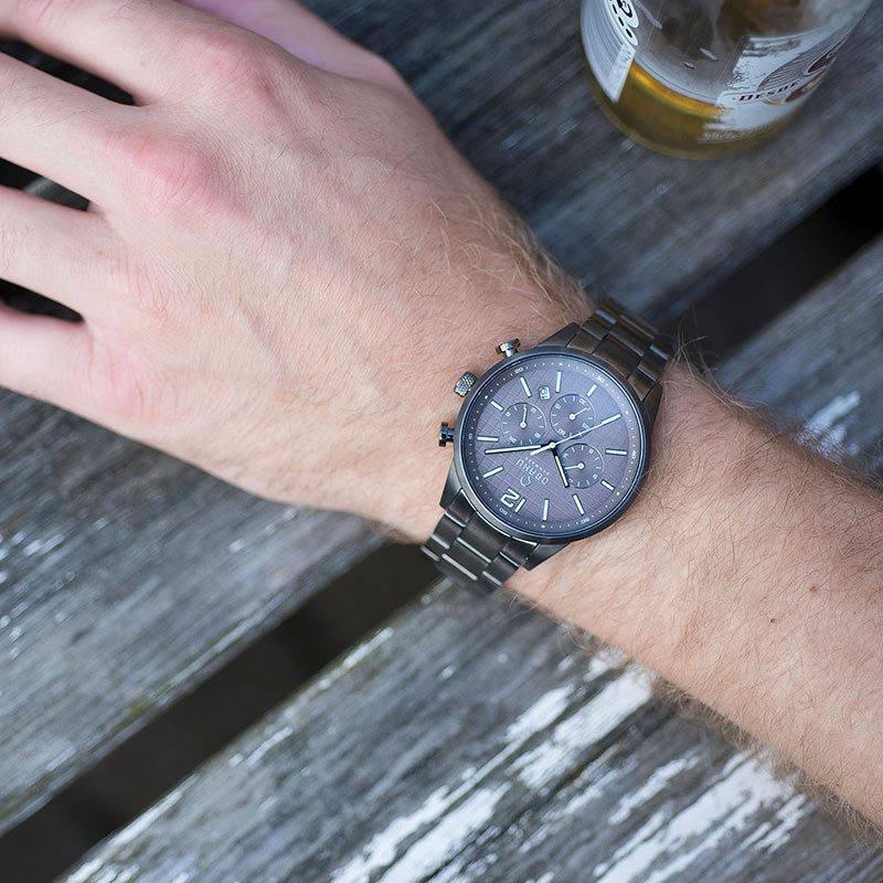 Obaku Men watch SKOV - SMOKEY SM2 view