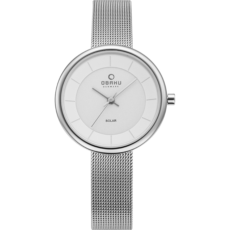 Obaku Women watch LYS - STEEL FRONT view