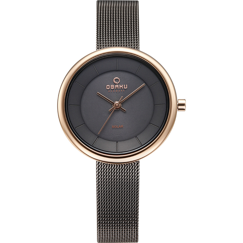 Obaku Women watch LYS - GRANITE FRONT view