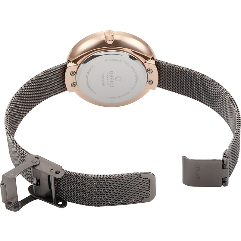Obaku Women watch LYS - GRANITE OPEN view