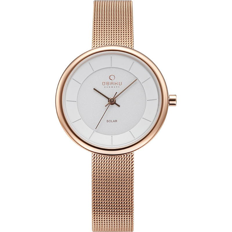 Obaku Women watch LYS - ROSE FRONT view