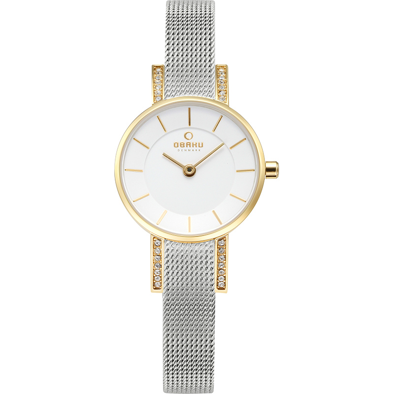 Obaku Women watch LYKKE - GOLD BI FRONT view