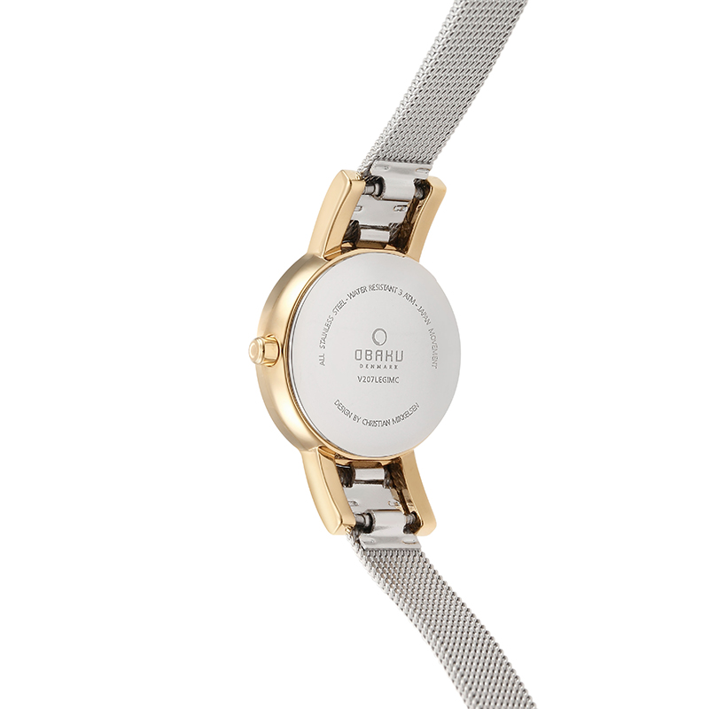 Obaku Women watch LYKKE - GOLD BI BACK view