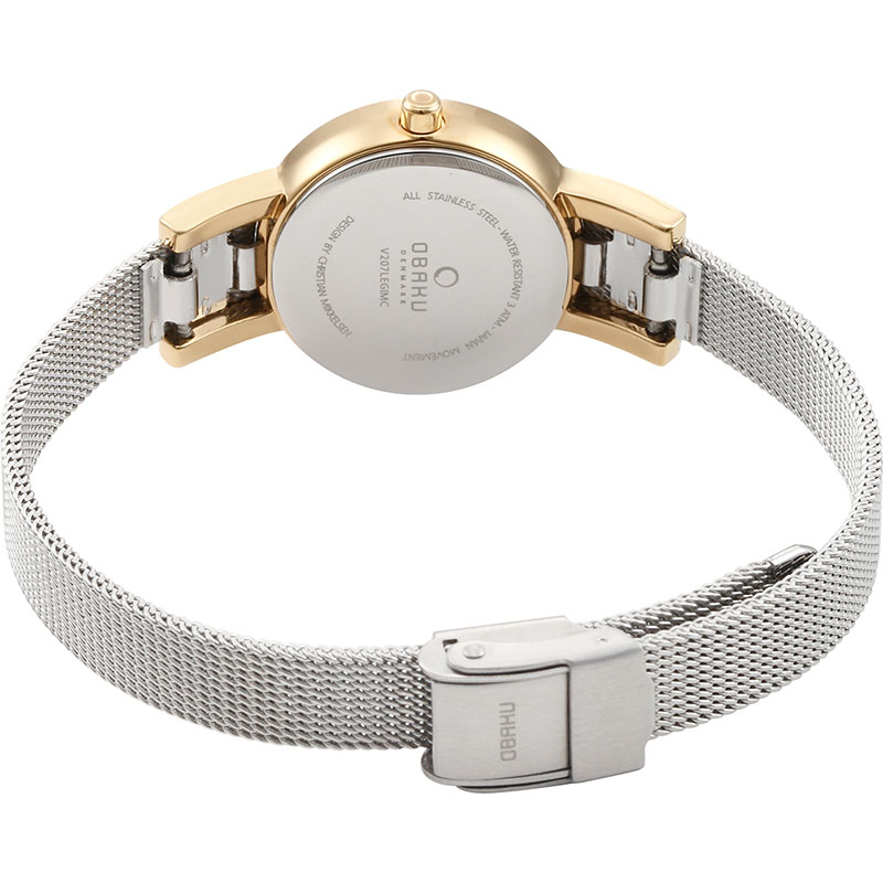 Obaku Women watch LYKKE - GOLD BI CLOSE view