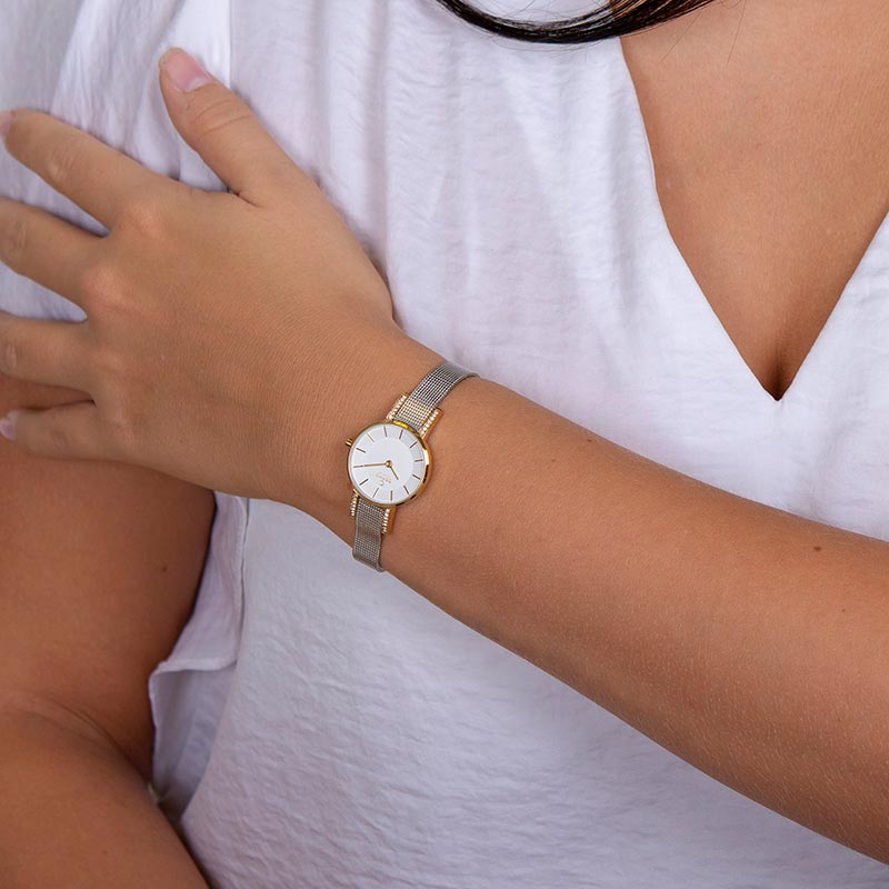Obaku Women watch LYKKE - GOLD BI WRIST view