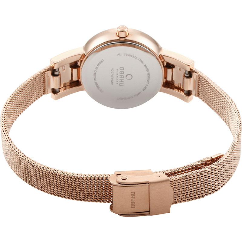 Obaku Women watch LYKKE - ROSE CLOSE view