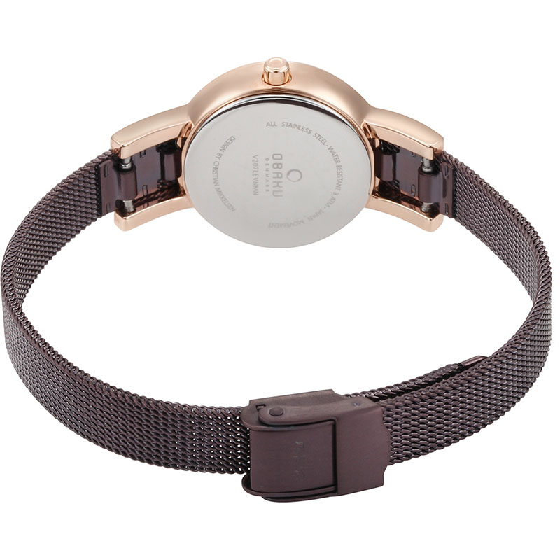 Obaku Women watch LYKKE - WALNUT CLOSE view