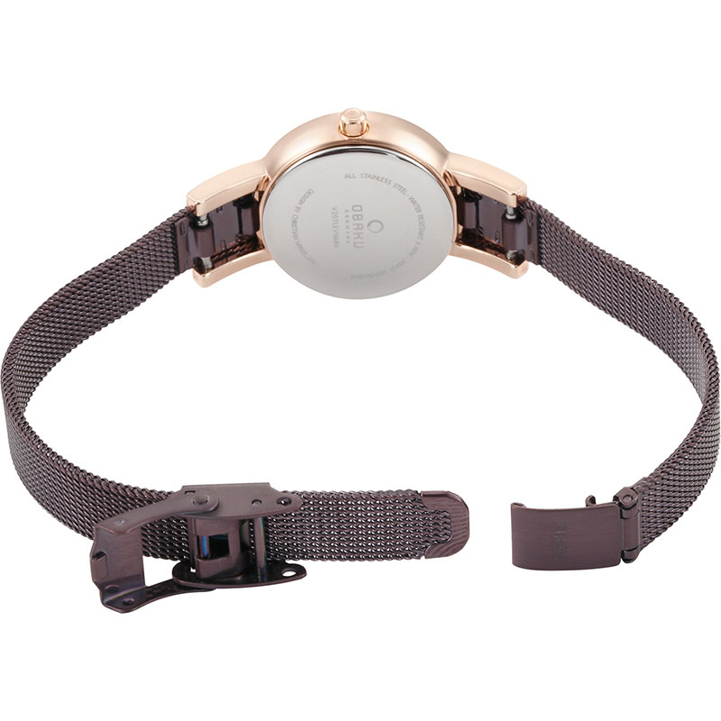Obaku Women watch LYKKE - WALNUT OPEN view