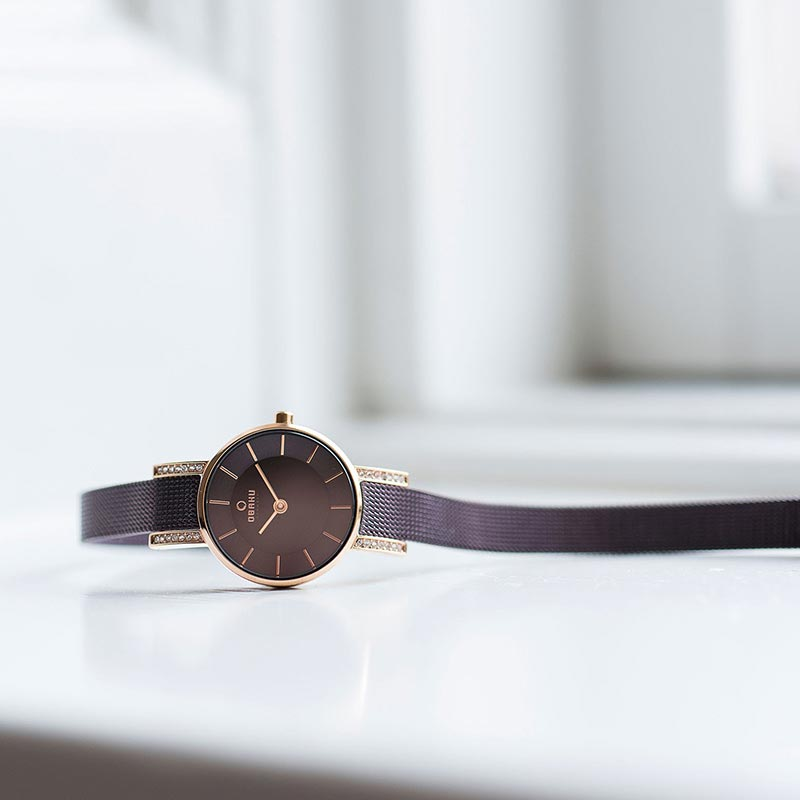 Obaku Women watch LYKKE - WALNUT SM3 view