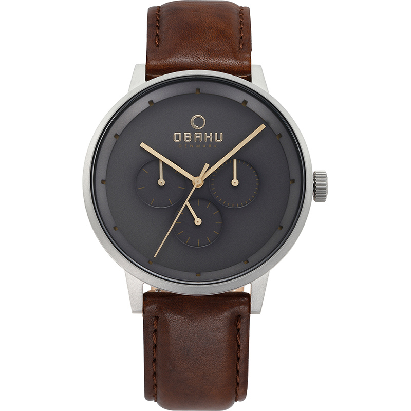 Obaku Men watch VENLIG - CLOUD FRONT view