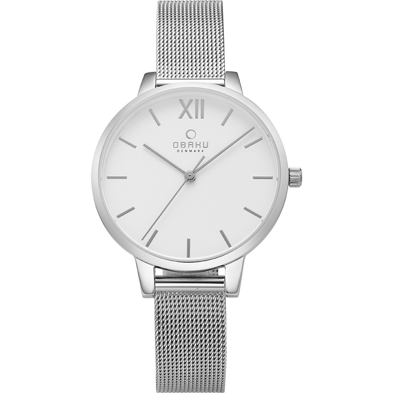 Obaku Women watch LIV - STEEL FRONT view