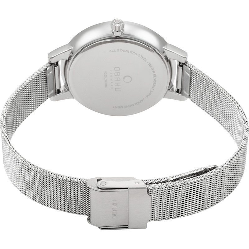 Obaku Women watch LIV - STEEL CLOSE view