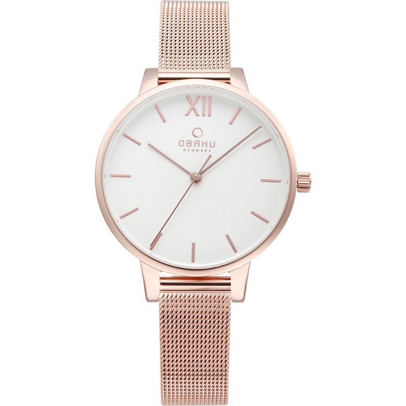 Obaku Women watch LIV - ROSE FRONT view