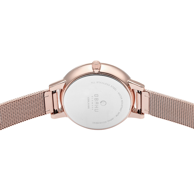 Obaku Women watch LIV - ROSE BACK view