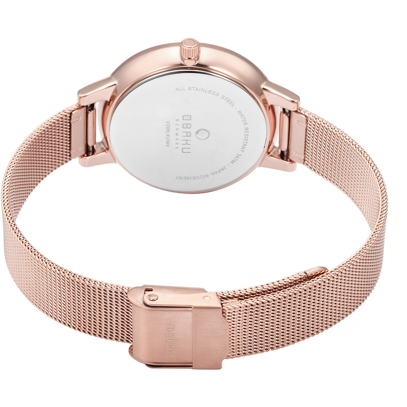 Obaku Women watch LIV - ROSE CLOSE view
