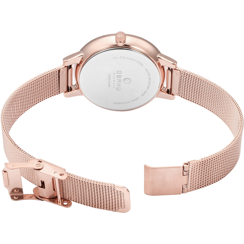 Obaku Women watch LIV - ROSE OPEN view