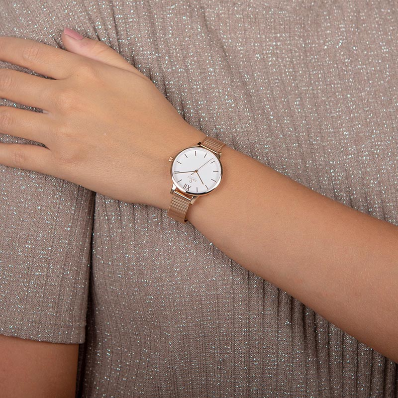 Obaku Women watch LIV - ROSE WRIST view