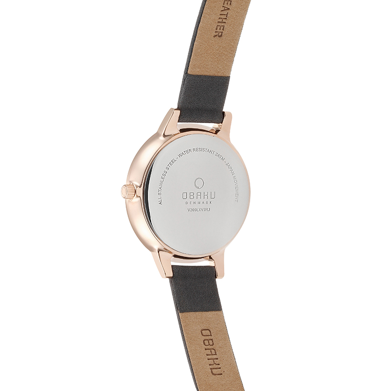 Obaku Women watch LIV - PEBBLE BACK view