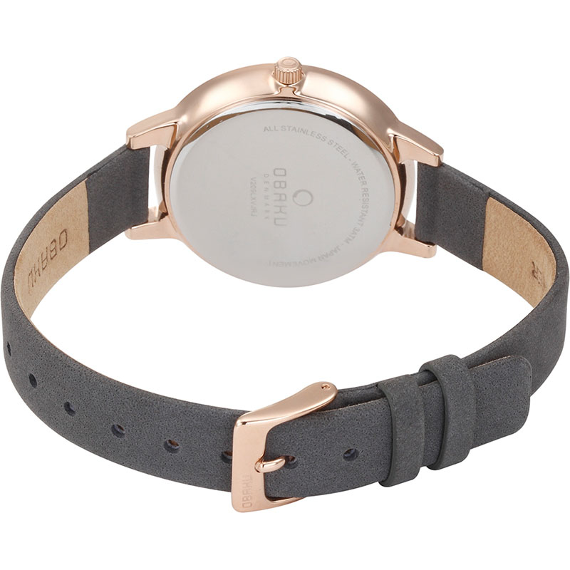Obaku Women watch LIV - PEBBLE CLOSE view