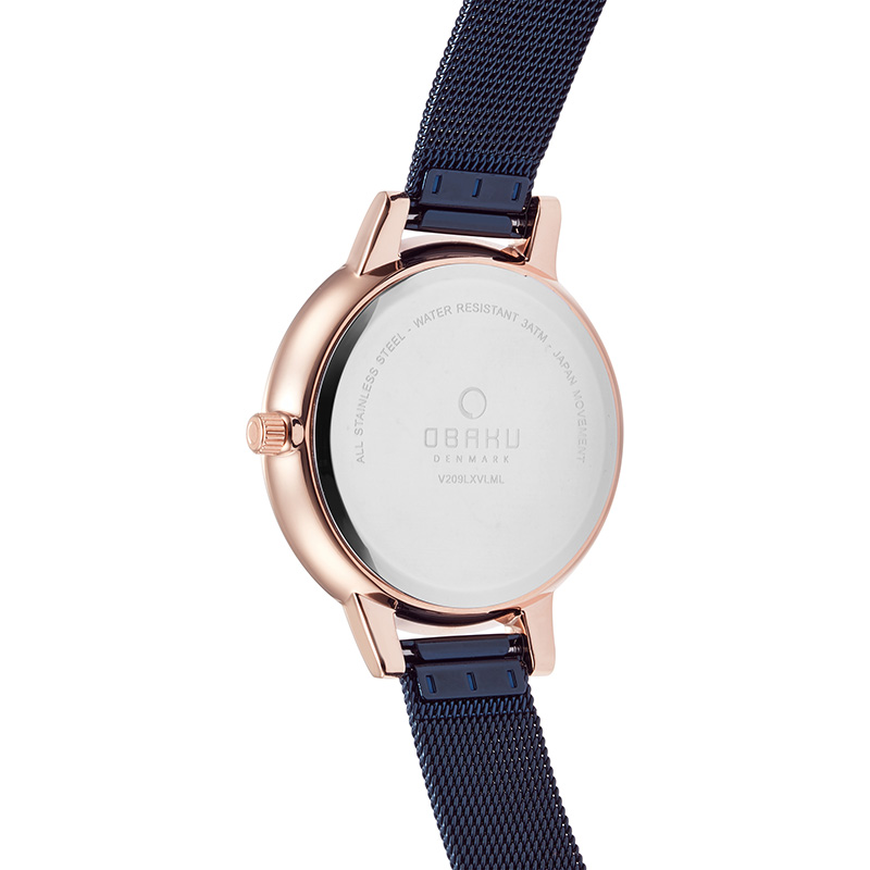 Obaku Women watch LIV - OCEAN BACK view