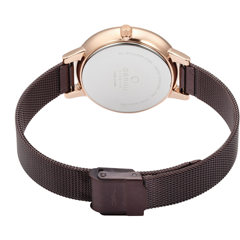 Obaku Women watch LIV - WALNUT CLOSE view