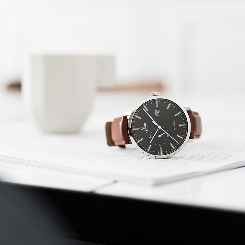 Obaku Men watch UTROLIG - UMBER SM1 view