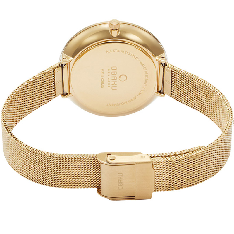 Obaku Women watch MYNTE - GOLD CLOSE view