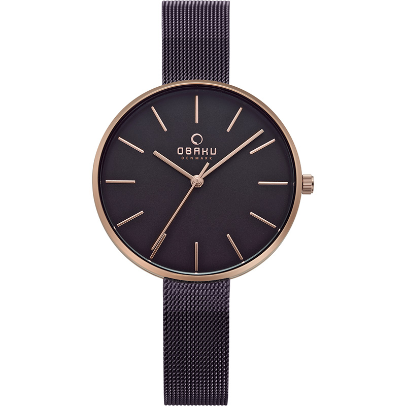 Obaku Women watch MYNTE - WALNUT FRONT view