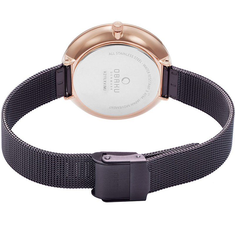 Obaku Women watch MYNTE - WALNUT CLOSE view