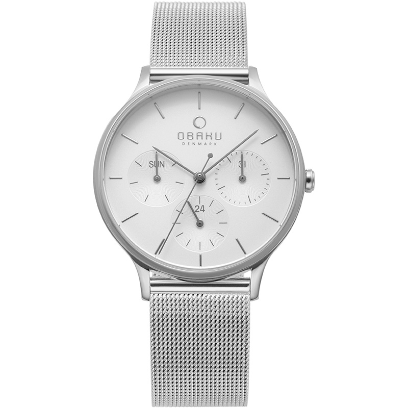 Obaku Women watch LIND - STEEL FRONT view