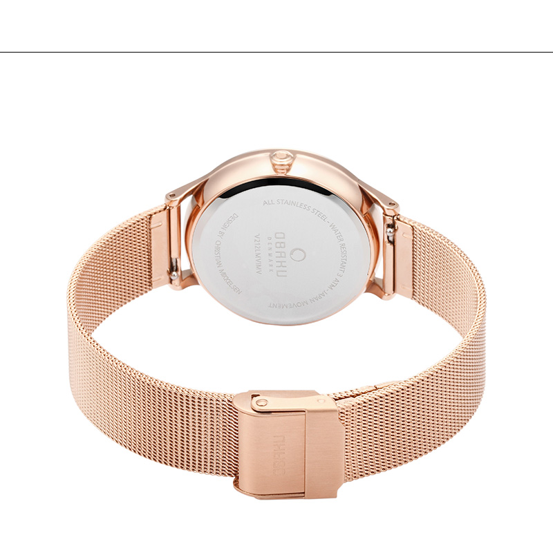 Obaku Women watch LIND - ROSE CLOSE view
