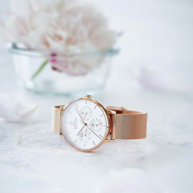 Obaku Women watch LIND - ROSE SM2 view
