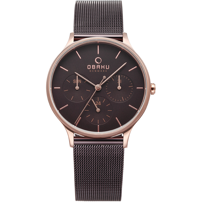 Obaku Women watch LIND - WALNUT