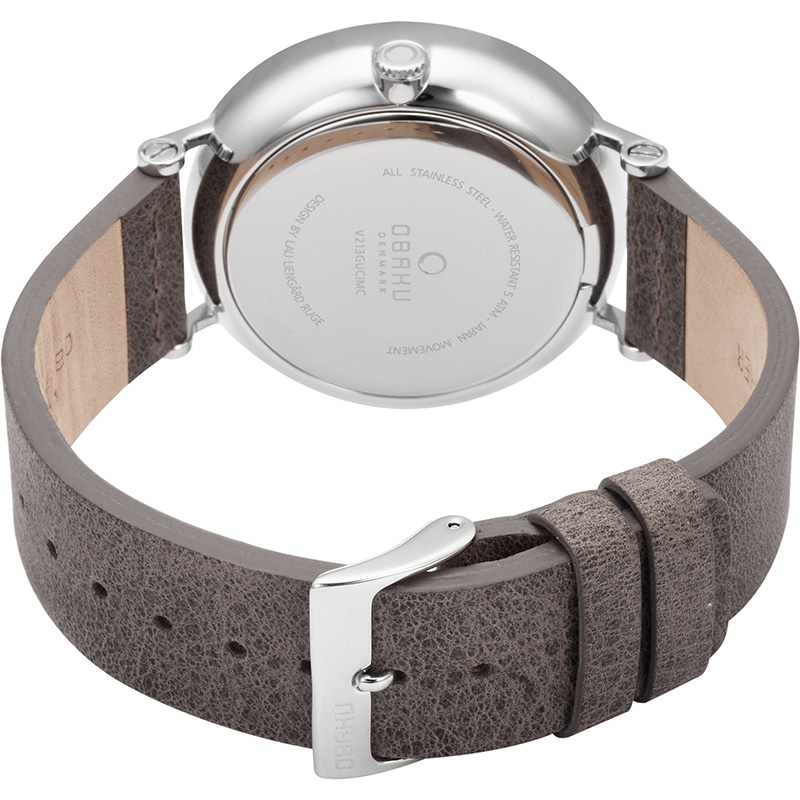 Obaku Men watch ELM - CLAY CLOSE view
