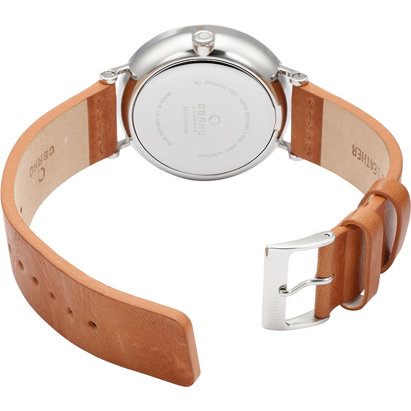 Obaku Men watch ELM - CAMEL OPEN view