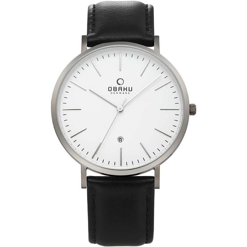 Obaku Men watch HAVRE - BLACKTITAN