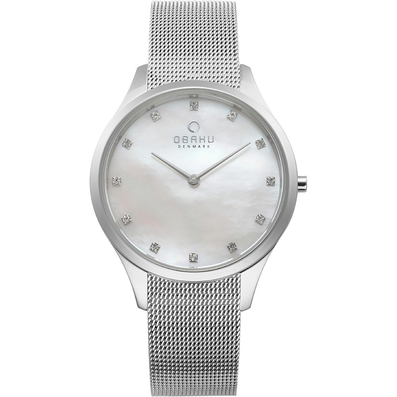 Obaku Women watch FIN - STEEL FRONT view