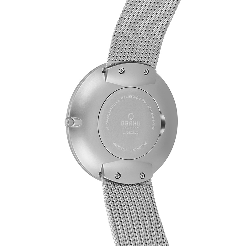 Obaku Men watch HASSEL - CYAN BACK view