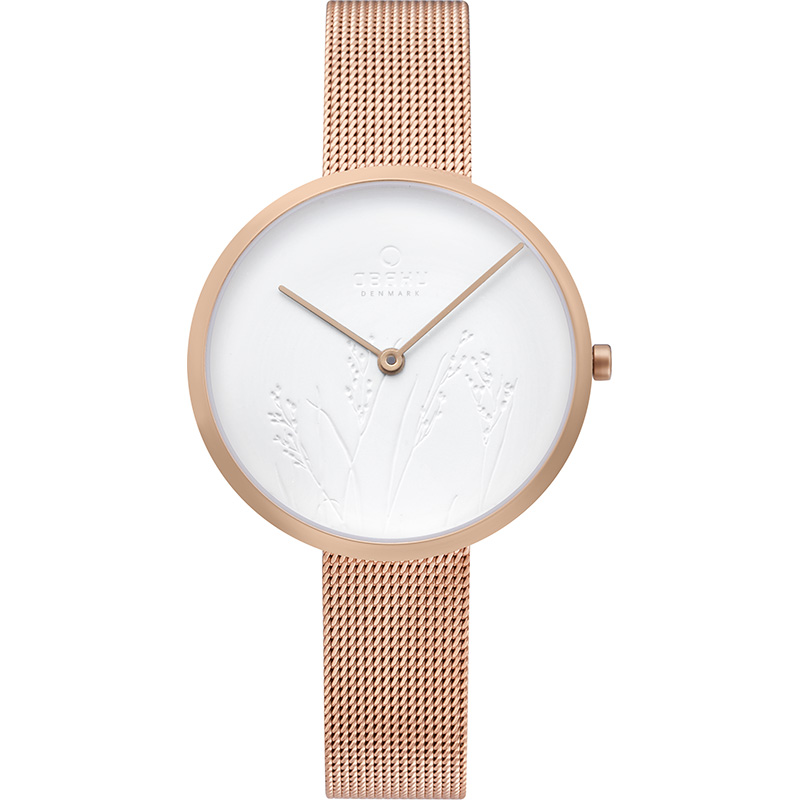 Obaku Women watch HASSEL NATUR - ROSE FRONT view