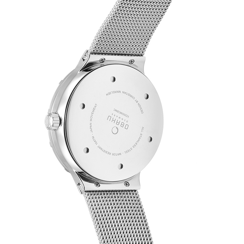 Obaku Men watch DYB - CYAN BACK view