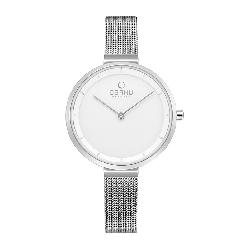 Obaku Women watch BLOMME - STEEL FRONT view