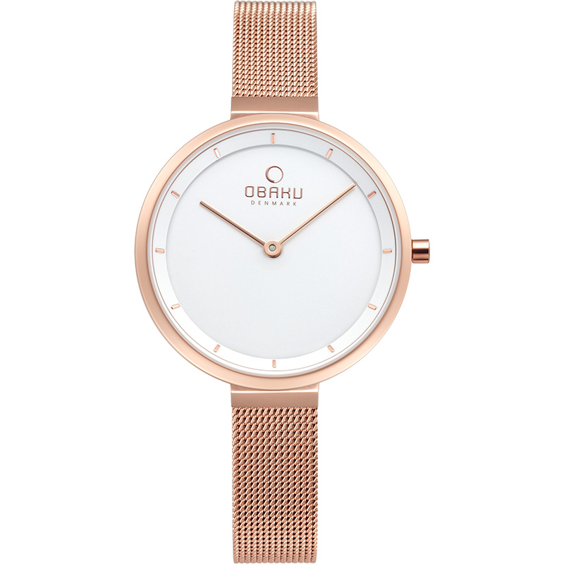 Obaku Women watch BLOMME - ROSE FRONT view
