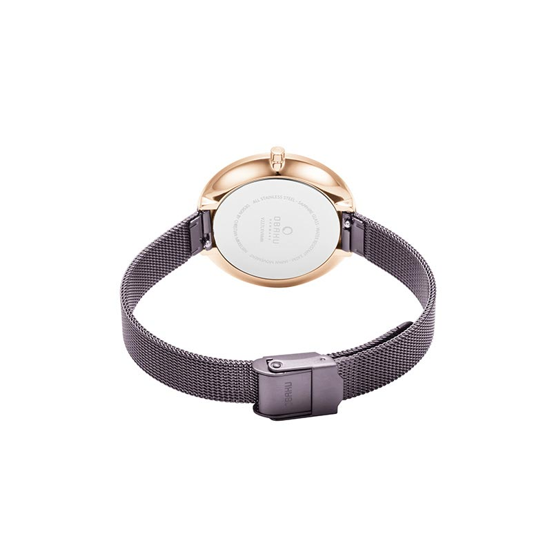 Obaku Women watch DOK - WALNUT CLOSE view