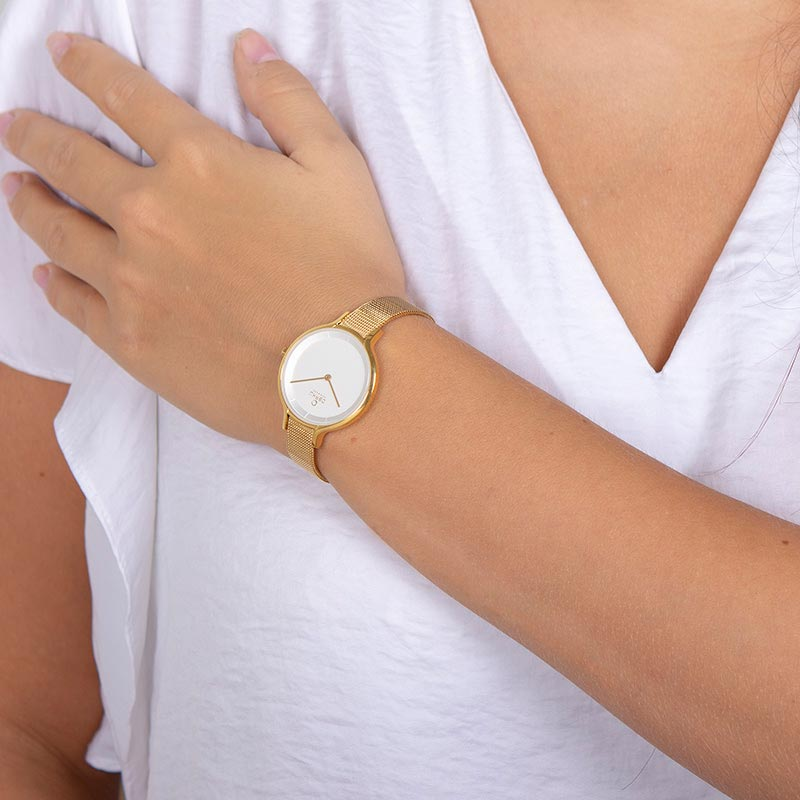 Obaku Women watch KYST - GOLD WRIST view