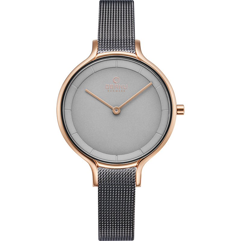 Obaku Women watch KYST - GRANITE FRONT view