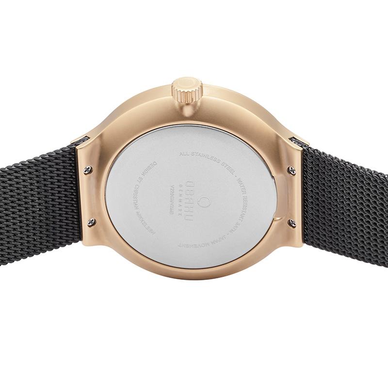 Obaku Men watch MOS - NIGHT BACK view